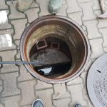 płukanie kanalizacji, płukanie odpływu kanalizacyjnego