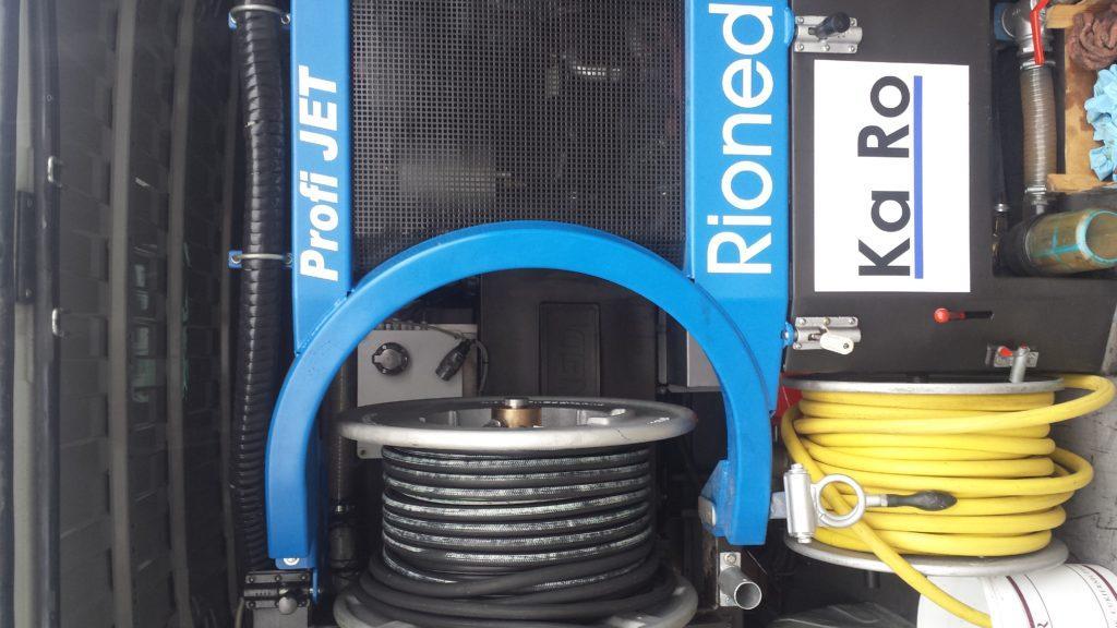 Rioned ProfiJet - urządzenie ciśnieniowe do udrożniania odpływów kanalizacyjnych